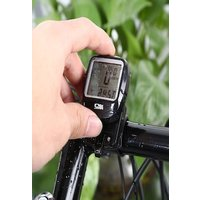 SD - 568AE Outdoor Multifunction Water Resistant Cycling Odometer Speedometer with LCD Backlight