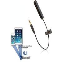 [REYTID] Bluetooth Adapter for Audio Technica OX5 SonicFuel Headphones - Wireless Converter Receiver Black