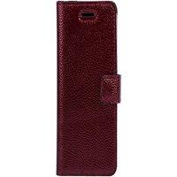 Xiaomi Redmi 6A- Surazo® Phone Case Genuine Leather- Ferro Red
