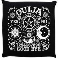 Ouija Board Black Cushion 40x40cm