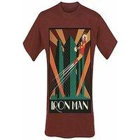 Marvel - Iron man men's t-shirt M Red