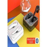 TWS T88 Bluetooth 5.0 Earphones True Wireless Earbuds Noise Canceling Earphones HIFI Earpieces with Mic White N/A