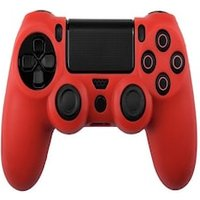 Silicone Protect Case RED (PS4) Red