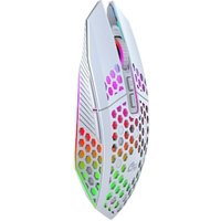 Gaming Mouse Rechargeable 2.4G Wireless Mouse 8 Keys White