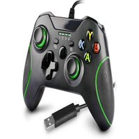 Wired Controller for Xbox One,Xbox one Game with Dual Vibration and Audio Jack for Xbox One/S/X/Win7,8,10 Black