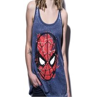 Marvel - Spiderman Head Paint Women Tanktop S Multi-colour