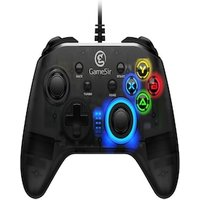 Gaming Controller with Vibration and Turbo Joystick Function for PC/Laptop Black