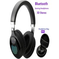 luetoothx Wireless Gaming Headphones 3D Stereo Sound Music Noise Reduction Headset With Mic FM TF Bag Case Gift