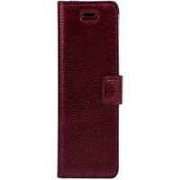 Surazo® Back Case Genuine Leather for phone Xiaomi Redmi Note 10 Pro - Quilted Diamonds - Ferro Red