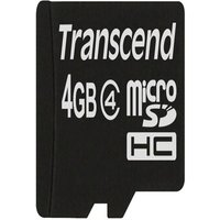 Karta Pamięci Transcend Microsdhc 4 Gb