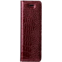 Samsung Galaxy S20 FE- Surazo® Genuine Leather Smart Magnet RFID- Cayme Red