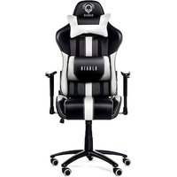 Diablo X Player Gaming Chair Black White 16499