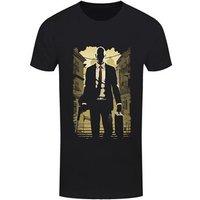 Men's Think Deadly Silhouette Tshirt Black / XXXL (Mens 46 to 48)