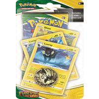 Pokémon TCG: Evolving Skies Checklane YELLOW LUXRAY
