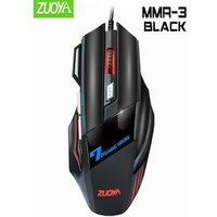 Professional Gaming Mouse DPI Optical Wired Mouse Black