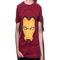 Marvel - Iron Man men's T-Shirt Head M Red