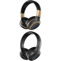 ZEALOT B20 Bluetooth Headset with HD Sound Bass Stereo Over Ear Wireless Headphone with Mic for Smartphones Gold N/A