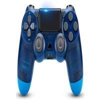 Newest PS4 Controller Dual Shock 4th Bluetooth Wireless Gamepad Joystick Remote Transparent Blue