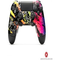 AimControllers Custom Dualshock 4 CamoColor with 4 paddles at the back