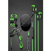 KSTE PLEXTONE G30 Stereo Bass in-Ear Headphones with Microphone Green