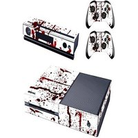 [REYTID] Xbox One Console Skin / Sticker + 2 x Controller Decals & Kinect Wrap - Blood Splatter XBOX ONE Multi-colour