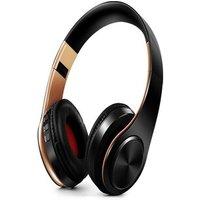 HIFI stéréo écouteurs bluetooth casque Gold