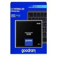 Goodram Cl100 Gen. 3 2.5″ 240 Gb Sata Iii (6 Gb/s) 520Mb/s 400Ms/s
