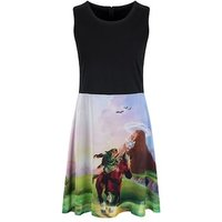 Nintendo The Legend of Zelda Women's Ocarina Of Time Dress Skinny Fit Medium (UK 10 to 12)