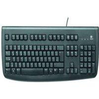Logitech Delux Keyboard Black (Hebrew Layout)