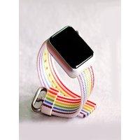 Rainbow Watchband Nylon Strap for Apple Watch iWatch 5/4/3/2/1 38mm 40mm