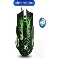RGB Wired gaming mouse with LED cable backlit and 7 buttons for Windows and IOS