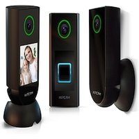 HIPCAM Smart Security Camera Pack Pro 1 (Indoor+Outdoor+Doorbell)Wifi HD, Nigth vision Face&Person detection