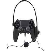 1pc Over-ear Wired earphone headphones gaming headset Black