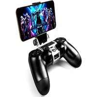 270x Degree PS4 Wireless Controller Phone clip Mountx Holder Stand Bracket Compatible with PS4 Pro/Slim Dualshock 4 Black
