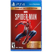 PS4 MARVEL SPIDERMAN GAME OF THE YEAR ED ALL (Physical)