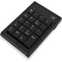 19-Key Keyboard Ewent EW3102 Black