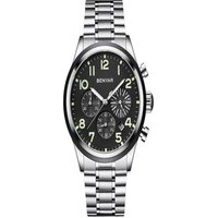 BENYAR Men Fashion Stainless Steel Waterproof Sports Quartz watches