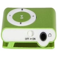 Pocket MP3 Player 3.5mm Audio Jack with Back Clip and Micro SD Card Slot