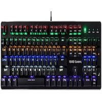 Mars Gaming MK4 Blue - Mechanical gaming keyboard (backlighting 6 colors, 10 profiles, 6 light effects)