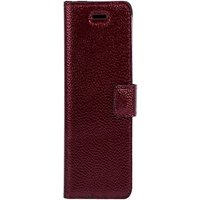 Samsung Galaxy A20e- Surazo® Phone Case Genuine Leather- Ferro Red