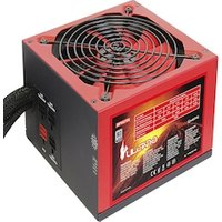 Mars MPVU750 Gaming - PC gaming power source (750W, 80 plus silver, active pfc, red LED lighting)