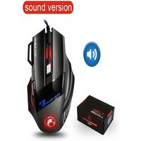 Souris de jeu filaire ergonomique Sound Version Black