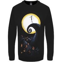 The Nightmare Before Christmas Men's Cemetery Sweater Black Extra Large (Mens 42to 44)