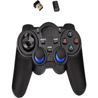 2.4G Wireless Gamepad Game Controller Black