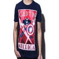 Marvel - Captain America men's T-shirt XXL Multi-colour