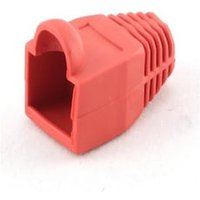 Case with RJ45 connector (pack of 10) iggual IGG312872 Red
