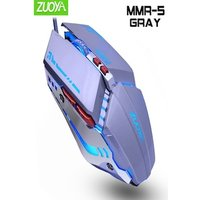 Professional Gaming Mouse DPI Optical Wired Mouse Grey