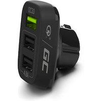 GC® Car Charger 42 W 3-Port USB 3.0 Car Charger QC Quick Charge for iPhone iPad Samsung HTC Huawei LG Xiaomi