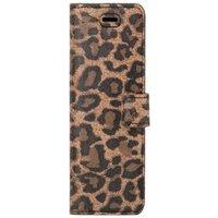 Lenovo / Motorola Moto G6 Plus / G6+- Surazo® Phone Case Genuine Leather- Panther