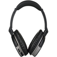 [REYTID] Wireless Noise Cancelling On-Ear Bluetooth Headphones - Heavy Bass Headset - iPhone Android Black